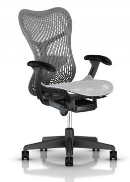 Herman Miller Mirra 2 alpine bureaustoel MRF131  MRF131AWAP N2 G1 BB SG BK 0