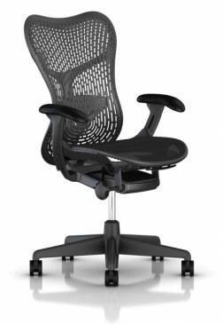Herman Miller Mirra 2 graphite bureaustoel MRF131  MRF131AWAP N2 G1 BB G1 BK 0