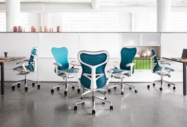 Herman Miller Mirra 2 white bureaustoel MRF133  MRF133AWAF N2 65 BB 98 8M10 1
