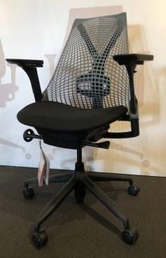 Herman Miller SAYL slate grey rug  AS1EA33AA AJ BK C7 SG BK 7O009 0