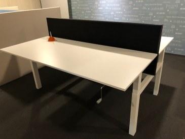 Huismerk Duo werkplek 2x 180 x 80 slingerverstelling  OUTL-DUO18080x2 1