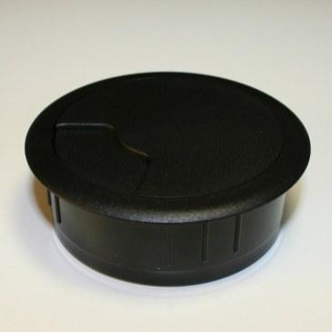 Kabeldoorvoer 3 delig Ø 60 mm zwart  423001.067600022.000 1