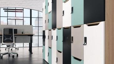 Narbutas Choice lockerkast 2-deurs met postsleuf 450 x 500 x 917 mm  C2C092-A 1