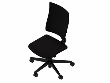 Nowy Styl 4ME bureaustoel zwart onderstel  4ME-BL-ESP 2
