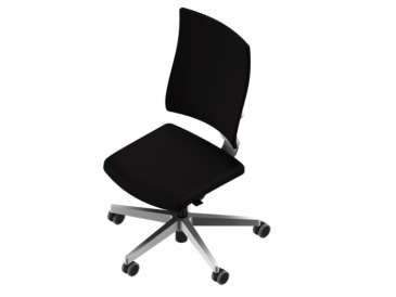 Nowy Styl 4ME bureaustoel wit onderstel  4ME-W-ESP 2