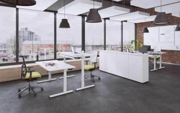OKA Easy-up bureau elektrisch hoogte verstelbaar 120 x 80 cm  T600100 1