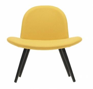 Softline ORLANDO stoel houten poten  2-388 0