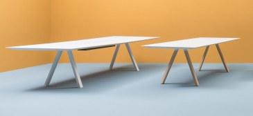 Pedrali ARKI WOOD vergadertafel 200 x 100 cm  ARKW200x100 3