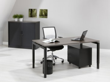 Orange Office Bureautafel Quartet 120 x 80 cm  OO 4Q128 2