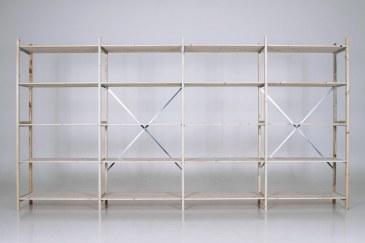 QuickRack Eurorek houten stelling basis 210 cm hoogte   QREB21.10.04.5 2