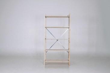QuickRack Eurorek houten stelling basis 210 cm hoogte   QREB21.10.04.5 0