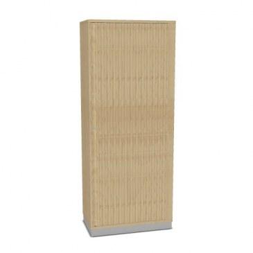 OKA houten 5OH jalouziedeurkast 197,1x120x45 cm  SBOBI22 0