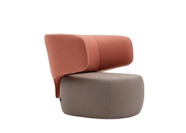 Softline Basel loungestoel  2-449 1