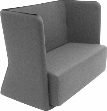 Softline Loungebank Basket Sofa lage rug  2-580 2