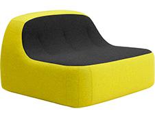 Softline Sand loungestoel   2-634 0