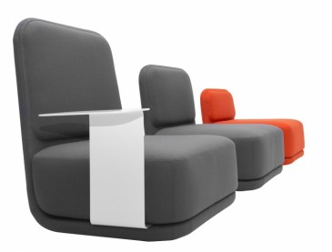 Softline STANDBY lounge stoel  2-339 2