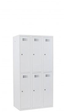 Stokq garderobekast 6 deurs  18332LC 1