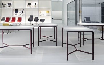 Tecno Clavis vergadertafel hoog 160 x 100 cm  1CV1200MM 0