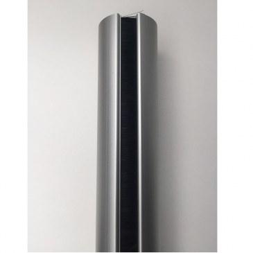 Aluminium buiszuil van vloer tot plafond wit   470550.000000000.001 3
