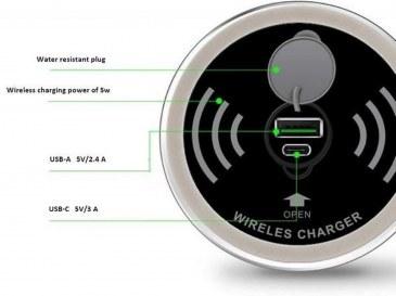 Draadloze oplader inclusief USB-A en USB-C charger  4735012.00000000.000 1