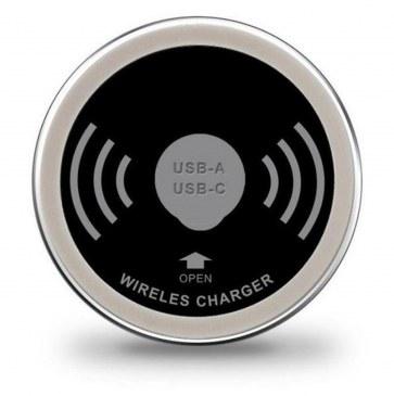 Draadloze oplader inclusief USB-A en USB-C charger  4735012.00000000.000 0