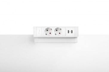 Thovip Power Desk Up 2.0 - 2x Stroom + 2x USB charger  4730014.02020000 2