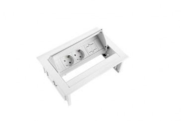 Thovip Power Desk IN 2 x stroom + 1 x leeg  4730067.02010000 4