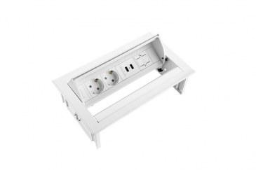 Thovip Power Desk IN 2 x stroom + 2 x USB charger + 1 x leeg   4730067.02020100 3