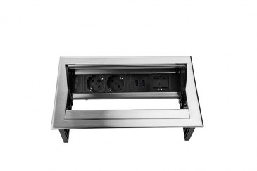Thovip Power Desk IN 2 x stroom + 2 x USB charger + 1 x leeg   4730067.02020100 4