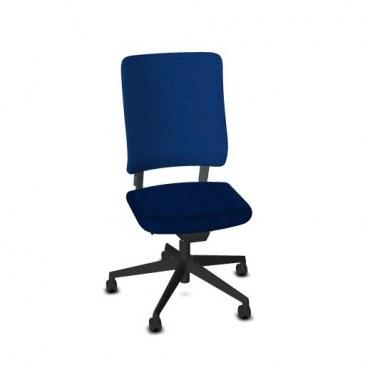 Viasit Drumback bureaustoel zwart  480.1002 0