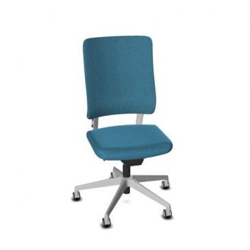 Viasit Drumback bureaustoel telegrijs  470.1002 0