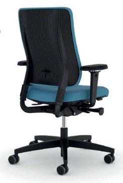 Viasit Drumback bureaustoel zwart  480.1002 1