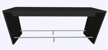 Werner Works K-Modul Stand voetensteun 260 x 60 cm  KMS-260R 0